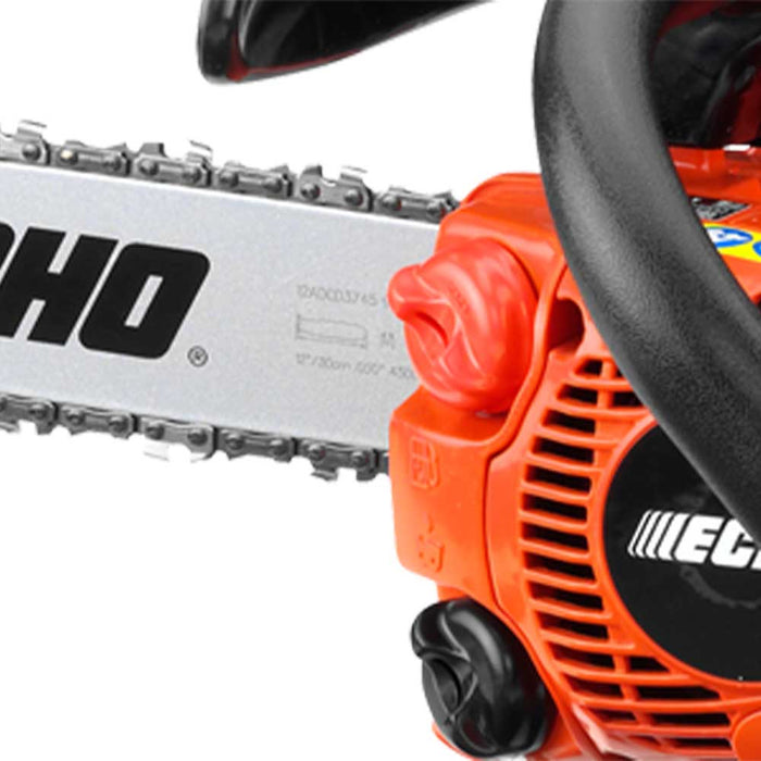 "Echo CS-271T-12 26.9cc 12"" 2 Stroke Gas Lightweight Durable Top Handle Chainsaw"