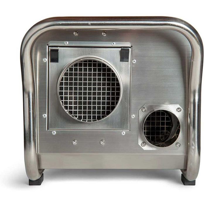 Ecor Pro EPD200-PRO 200 Pint DryFan Stainless Steel Desiccant Dehumidifier