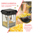 FunTime 4oz Black Bar Table Top Popcorn Popper Maker Machine - FT421CB-SK