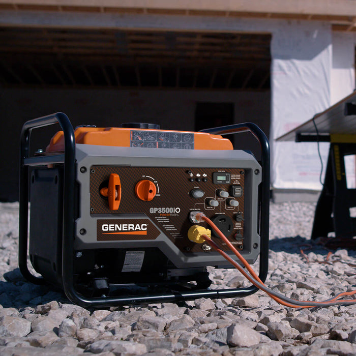 Generac GP3500IO 3,500-Watt 212cc Recoil Start Portable Inverter Generator