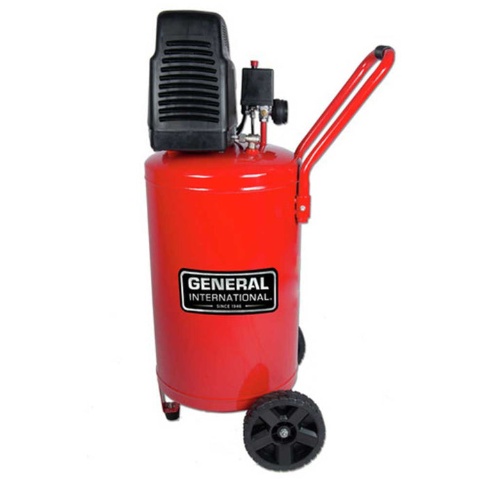 General International AC1220 1.5 HP 20 Gallon Portable Vertical Air Compressor