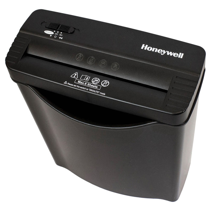 Honeywell 9306F 120 Volt 2.65 Gallon 6-Sheet Strip-Cut Paper Shredder