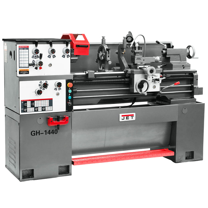 Jet 322840 220-Volt 14-Inch x 40-Inch 3-Hp 3-Phase Adjustable Geared Head Lathe