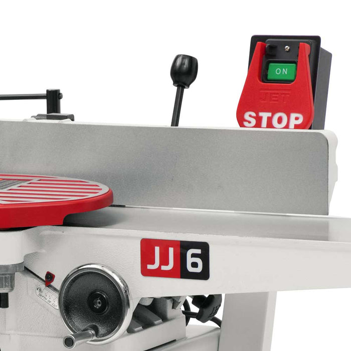 "Jet JJ-6HHDX, 6"" Long Bed Jointer with Helical Head Kit 708466DXK"