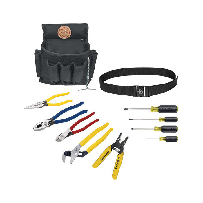 Klein Tools 92911 Heavy Duty Apprentice Tool Set 11 Piece Kit