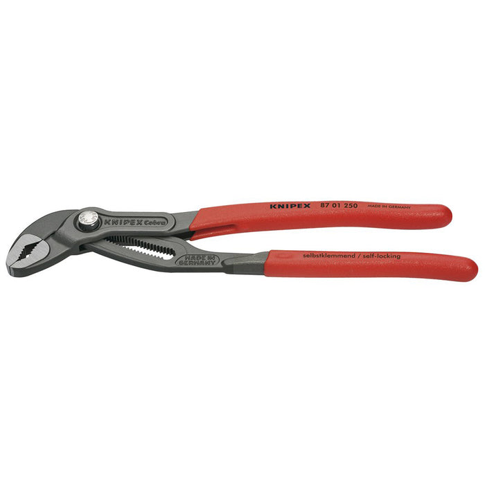 Knipex 87 01 250 SBA Pipe Wrenches Water Pump Cobra Pliers