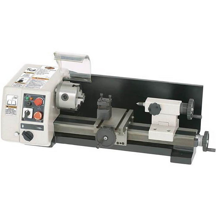 "Shop Fox M1015 6"" X 10""  Mini Metal Lathe 1/5 Hp, 110V Single-Phase 100-2000 Rpm"