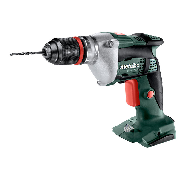 Metabo 600261890 BE 18 LTX 6 18V Cordless High Speed/Precision Drill - Bare Tool
