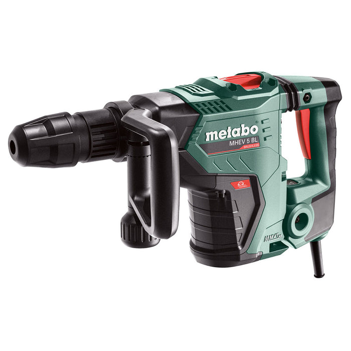 Metabo 600769620 MHEV 5 BL SDS MAX Corded Brushless Chipping Hammer w/ Case