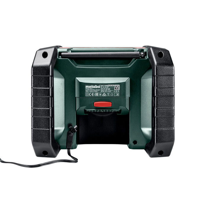 Metabo 600777520 12-18 BT 12V-18V Cordless AM/FM Worksite Radio - Bare Tool