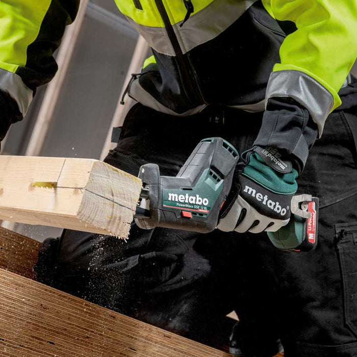 Metabo 602322890 12 SSE BL 12V PowerMaxx Compact Reciprocating Saw - Bare Tool