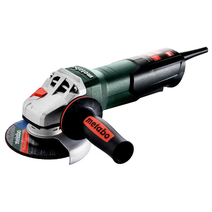 "Metabo 603624420 WP 11-125 4-1/2""- 5"" 11 Amp Quick Corded Robust Angle Grinder"