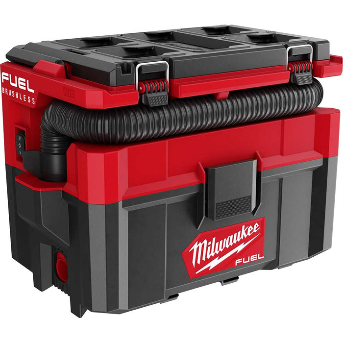 Milwaukee 0970-20 M18 FUEL PACKOUT 2.5 Gallon Cordless Wet/Dry Vacuum -Bare Tool