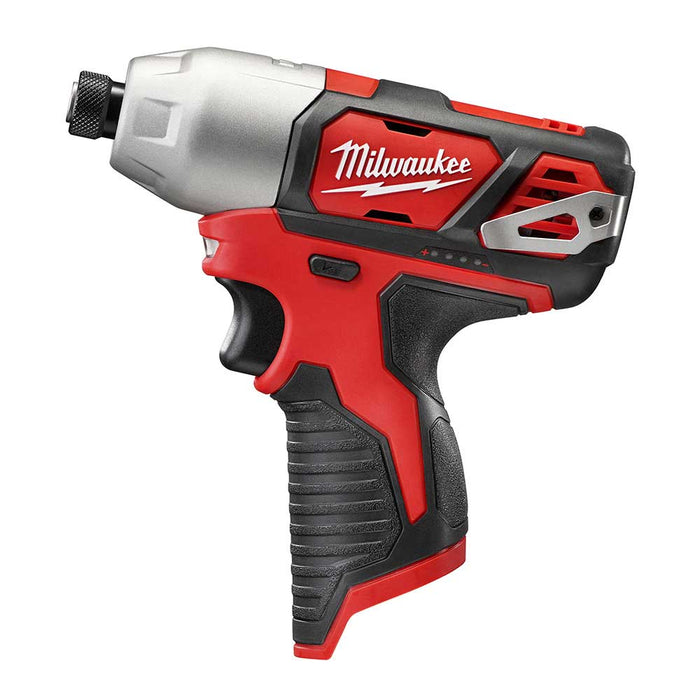 "Milwaukee 2462-80 M12 12V 1/4"" Hex Impact Driver - Bare Tool - Reconditioned"