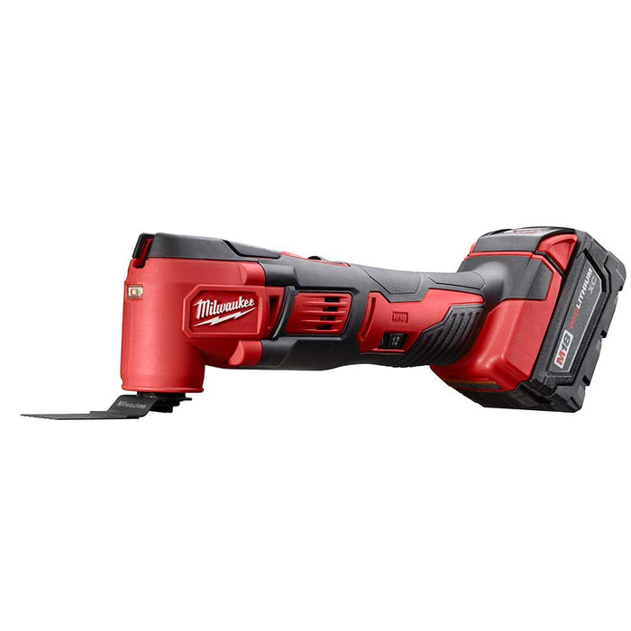 Milwaukee 2626-82 M18 18V Lithium-Ion Multi-Tool w/ Batteries - Reconditioned