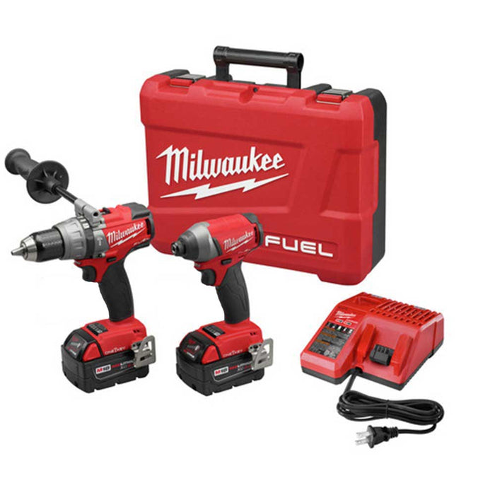 Milwaukee 2796-82 M18 FUEL 18V Cordless Power 2-Tool Combo Kit - Reconditioned