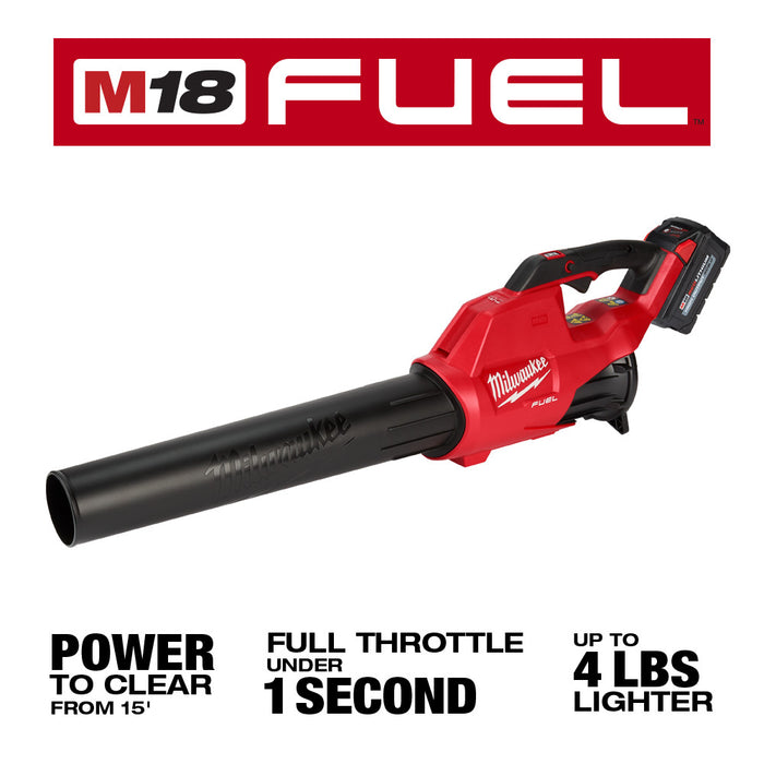 Milwaukee 3000-21 M18 FUEL 18V Cordless Trimmer/Blower 2 Tool Combo Kit