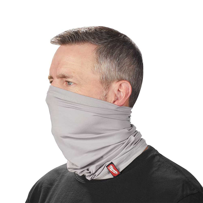 Milwaukee 423G Multi-Functional Moisture Wicking Breathable Neck Gaiter - Gray