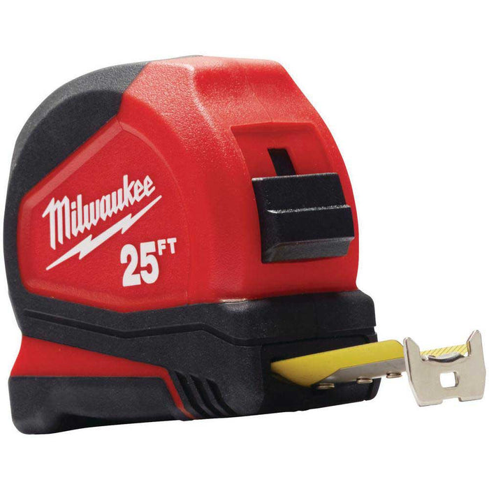 Milwaukee 48-22-6625 25-Foot Nylon Bond Blade Reinforced Frame Tape Measure