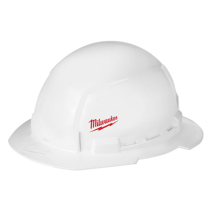 Milwaukee 48-73-1031 Full Brim Vented Hard Hat w/ BOLT Slots Type 1 Class E