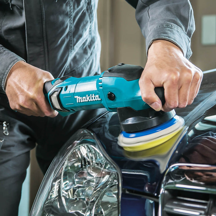 Makita PO5000CX2 5-Inch 6800-Opm Electric Dual Action Random Orbit Polisher Kit