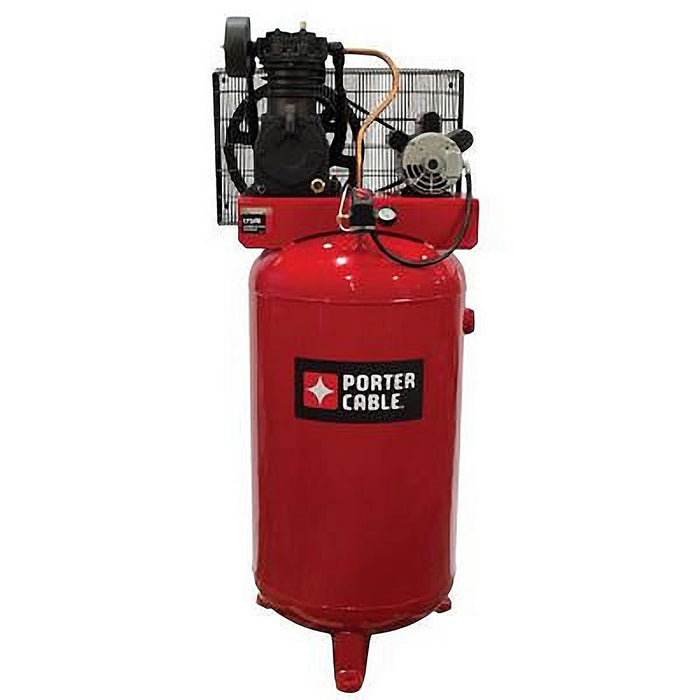 Porter Cable PXCMV5048055 5 HP 80 Gallon Two Stage Air Compressor