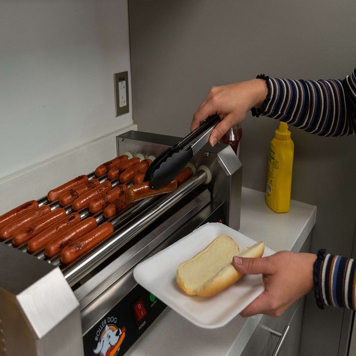 Roller Dog Commercial 18 Hot Dog 7 Roller Grill Cooker Machine RDB18SS