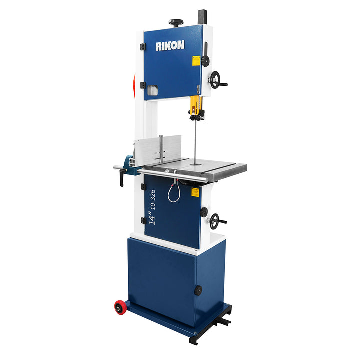 RIKON 10-326 230-Volt 14-Inch 1.75-Hp Heavy Duty Cast Iron Deluxe Bandsaw