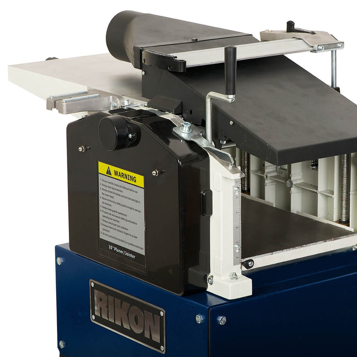 RIKON 25-010 220-Volt 10-Inch 1.5-Hp Heavy Duty Cast Iron Planer / Jointer