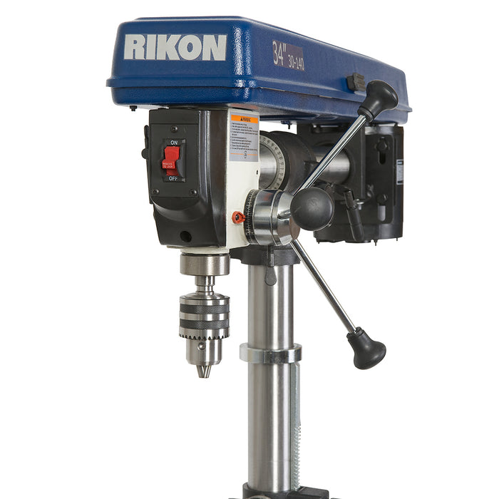 RIKON 30-140 34-Inch 1/3-Hp 5-Spindle Heavy Duty Benchtop Radial Drill Press
