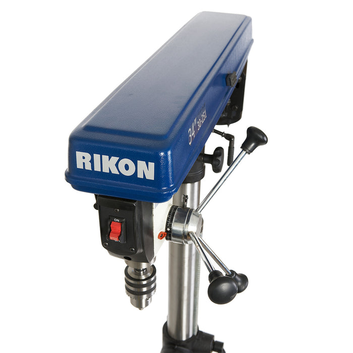 RIKON 30-251 34-Inch 1/3-Hp Heavy Duty Powerful Floor Radial Drill Press