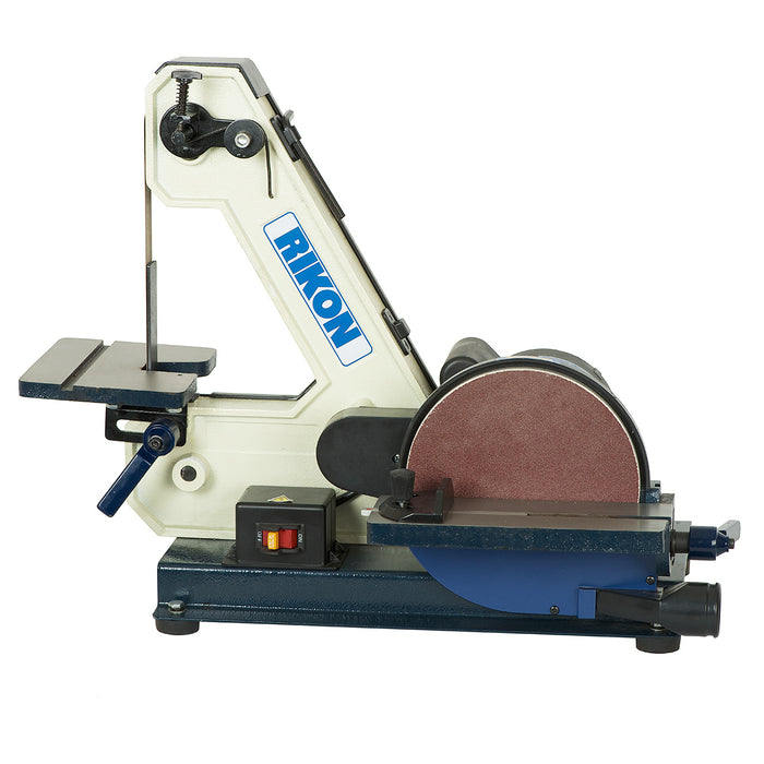 RIKON 50-144 120-Volt 1 x 42-Inch Cast Iron, Steel Belt and 8-Inch Disc Sander