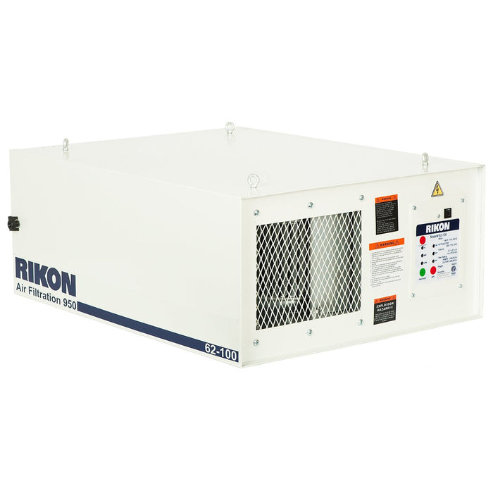RIKON 62-100 115-Volt 1/4-Hp 950-Cfm 3-Speed Heavy Duty Air Filtration System
