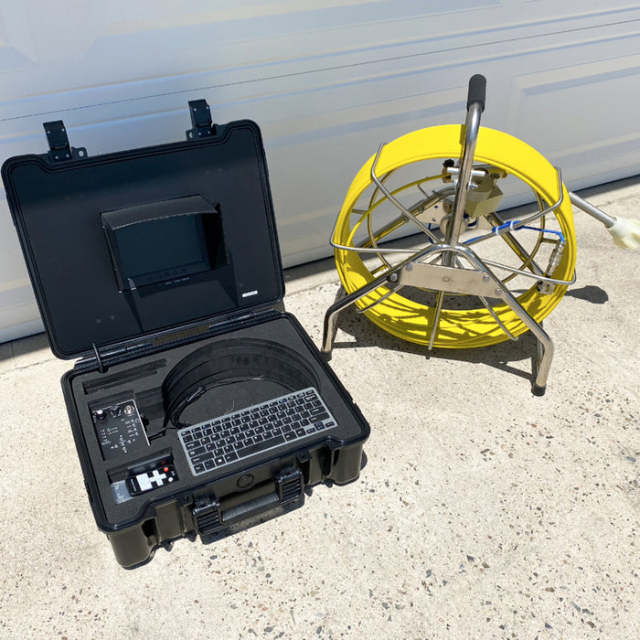 Video Snake 3388T 196' Self Leveling Pipe Inspection Camera w/ Transmitter
