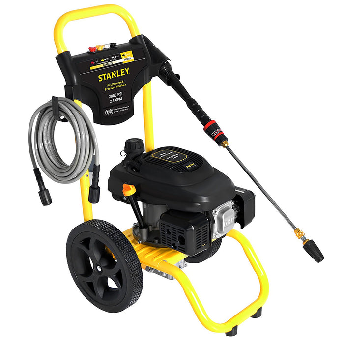 Stanley SXPW2823 159cc 2800-Psi 2.3-Gpm Gas Powered Cold-Water Pressure Washer