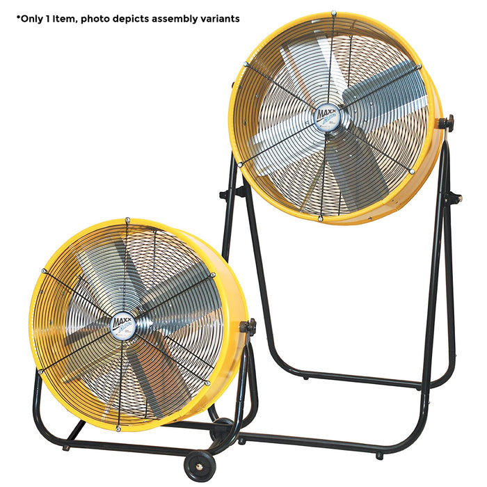 Maxx Air BF24TF2N1YEL 24-Inch 2-in-1 Portable Floor Air Fan - BF24TF2N1YELUPS