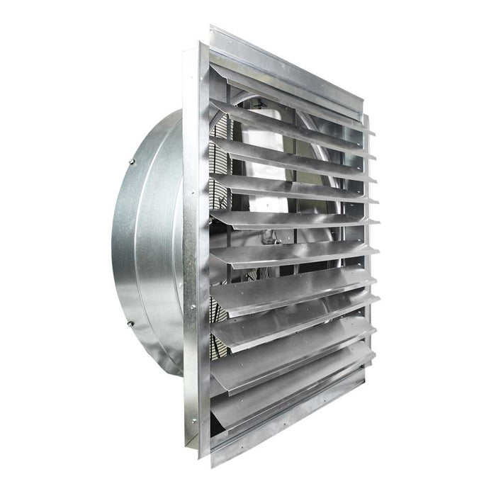Maxx Air IF36 36-Inch 9,000-CFM Heavy Duty Exhaust Fan with Integrated Shutter