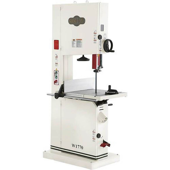 "Shop Fox W1770 5 H.P. 21"" Bandsaw with Micro-Adjusting Rack & Pinion Table Tilt"
