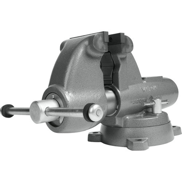 "Wilton 28828 6"" Combo Pipe/Bench Jaw Round Channel Vise w/ Swivel Base"