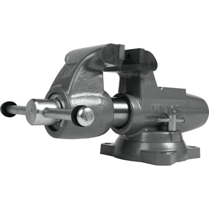 "Wilton 28832 500S 5"" Machinist Jaw Round Channel Vise w/ Swivel Base"