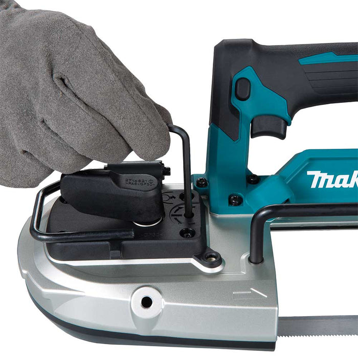 Makita XBP04Z 18V LXT Li-Ion Compact Brushless Cordless Band Saw - Bare Tool