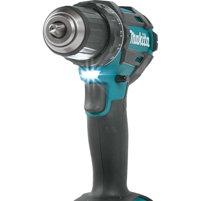 "Makita XFD10SY 18V LXT 1/2"" Compact Cordless Lithium-Ion Driver Drill Kit"