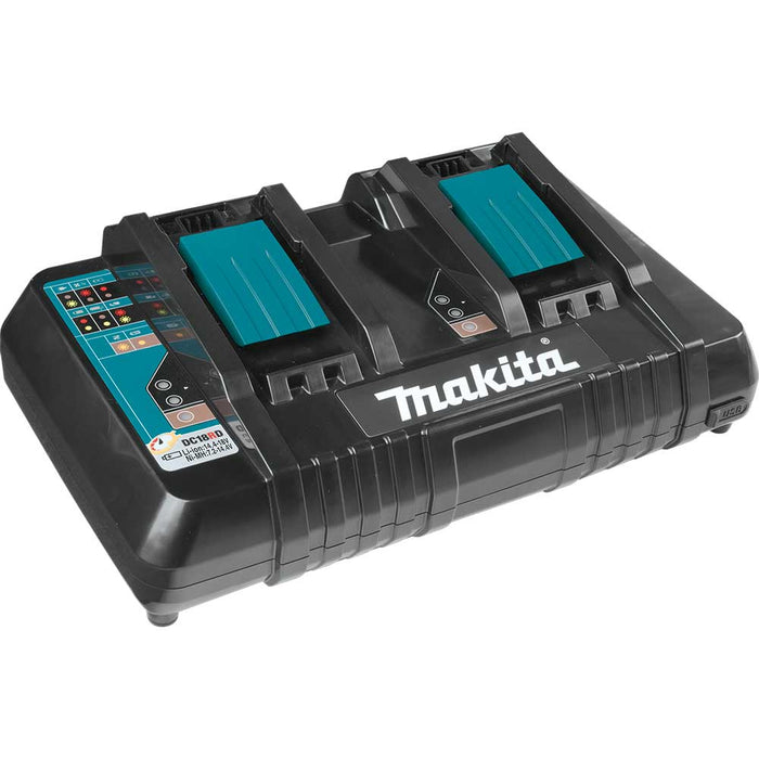 "Makita XML06PT1 18V X2 36V LXT 18"" Self Propelled Lawn Mower w/ 4 Batteries"