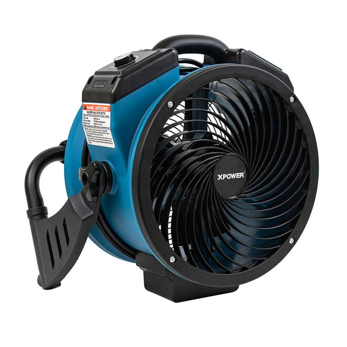 XPower FC-150B 360 Degree Brushless DC Motor Rechargeable Room Air Circulator