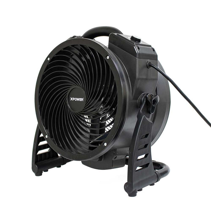 XPower M-25 115 Watt 360 Degree Corded Axial Air Mover w/ Ozone Generator