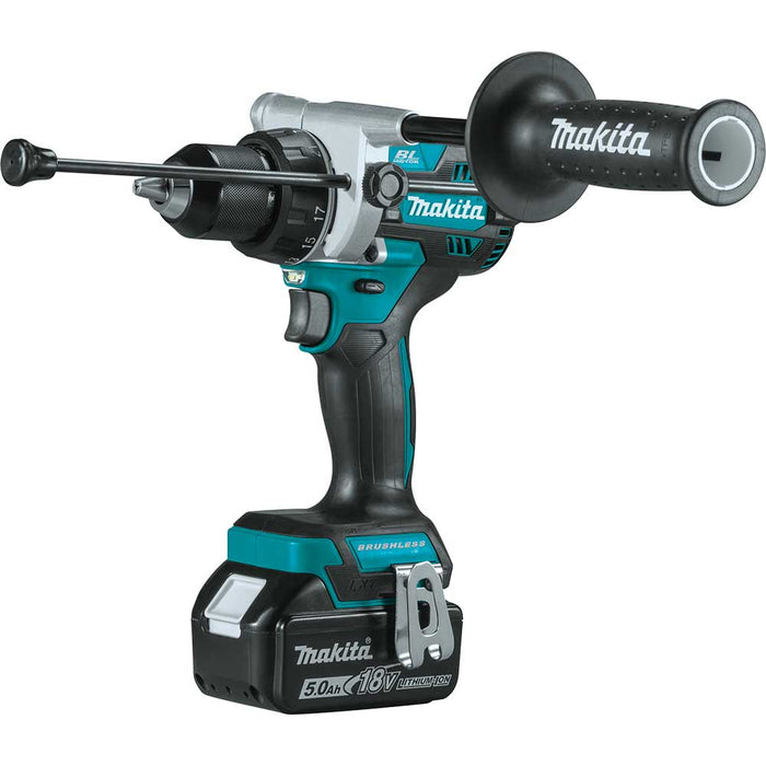 Makita XT616PT 18V LXT Li-Ion Brushless Cordless 6 Tool Combo Kit w/ 5Ah Battery
