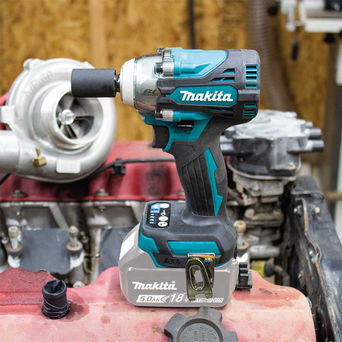 "Makita XWT14Z 18V LXT 1/2"" Sq. Cordless Drive Impact Wrench w/ Anvil - Bare Tool"