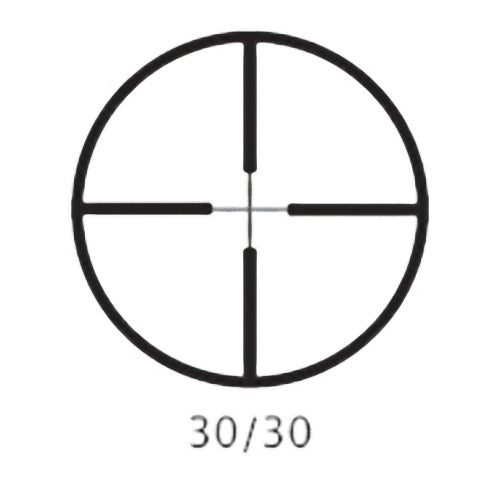 "Barska AC10042 4-16x50 1"" Diameter Tube 30/30 Recticle Varmint Riflescope"