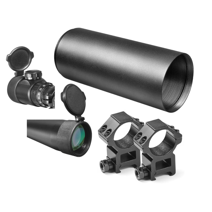 Barska AC10814 3.5-10x40 30mm Tube Diameter Swat Extreme Tactical Riflescope