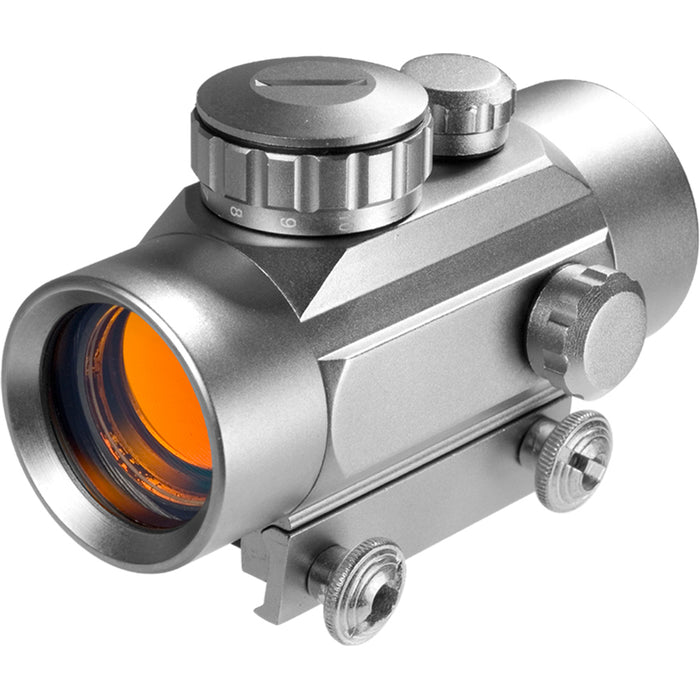 Barska AC11086 30mm Diameter Tube Silver Integrated Mount Red Dot Sight